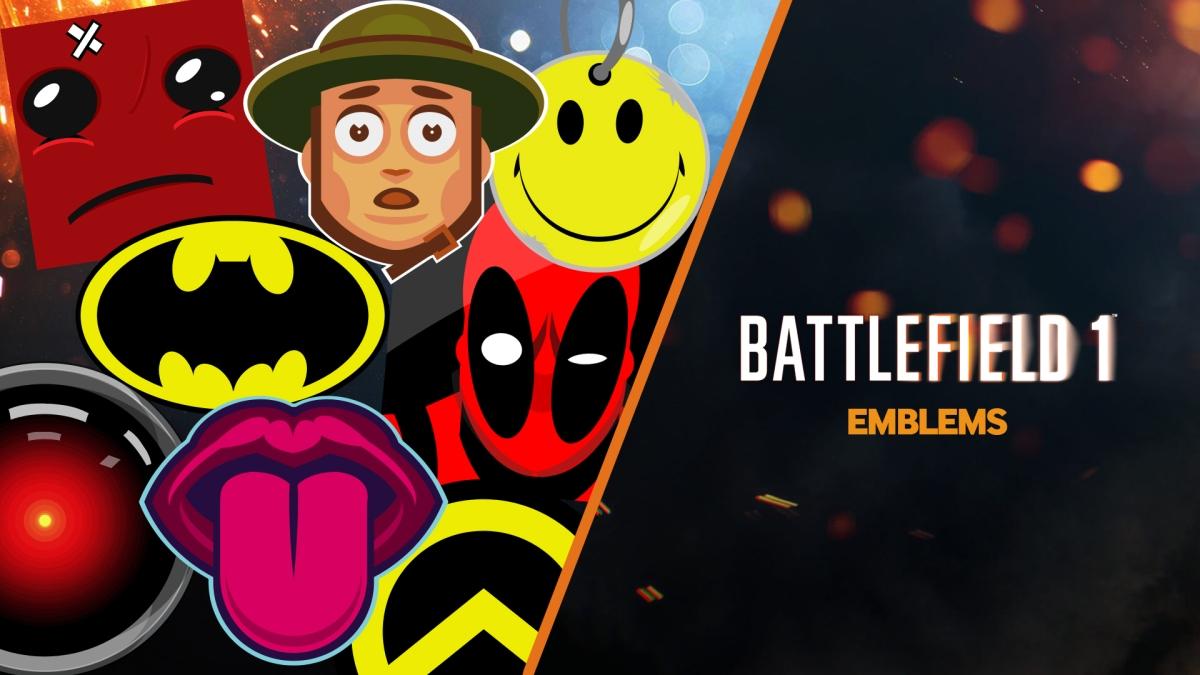 Battlefield 1 : comment trouver et mettre des emblèmes déjà créés ?
