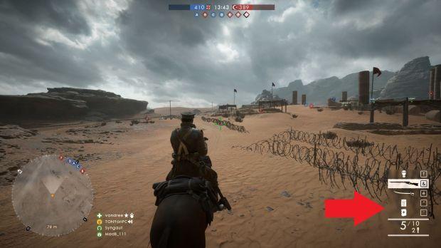battlefield-1-comment-récupérer-soins-munitions-rapidement-cheval-redonner-poches-munitions-soins-image-01