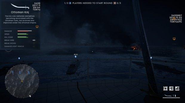 battlefield-1-dlc-turning-tides-infos-date-sortie-arme-corps-à-corps-ottoman-kilij-image-01