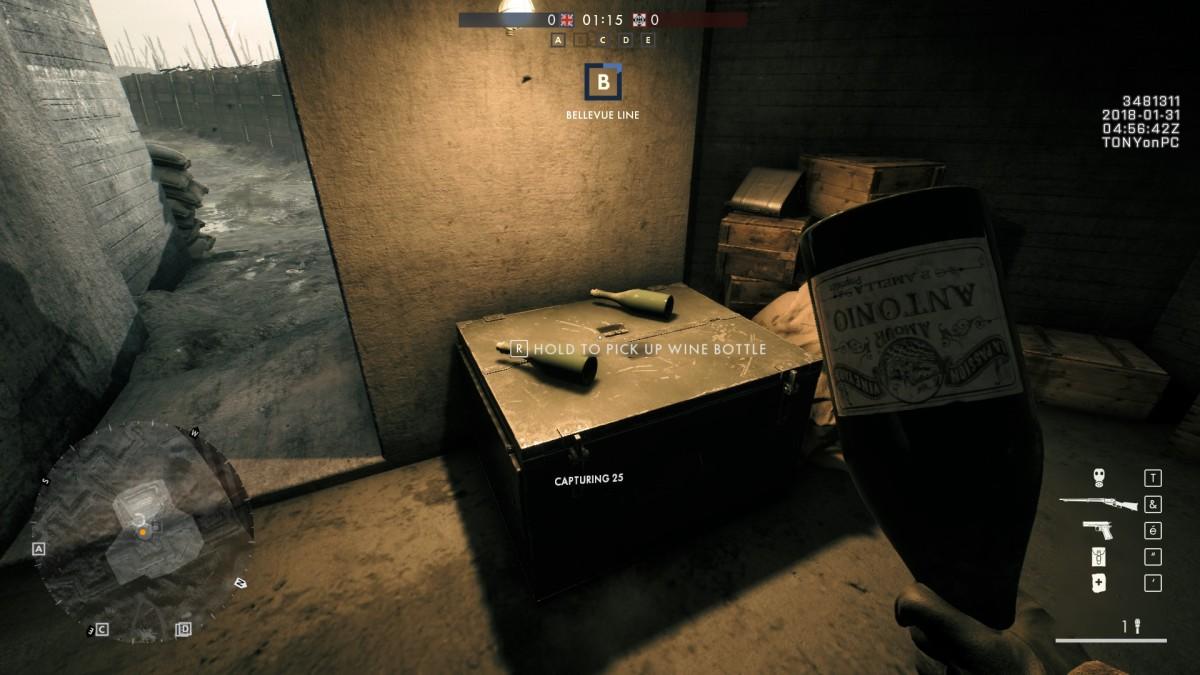 Battlefield 1 : comment débloquer l'arme Bouteille Cassée du DLC Apocalyse ?