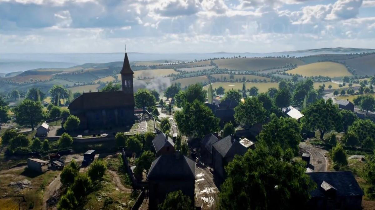 Arras : DICE dévoile une vue de la carte de BF5 en Conquête, en plus de l'essayer en Lignes de front avec des avions (MàJ)