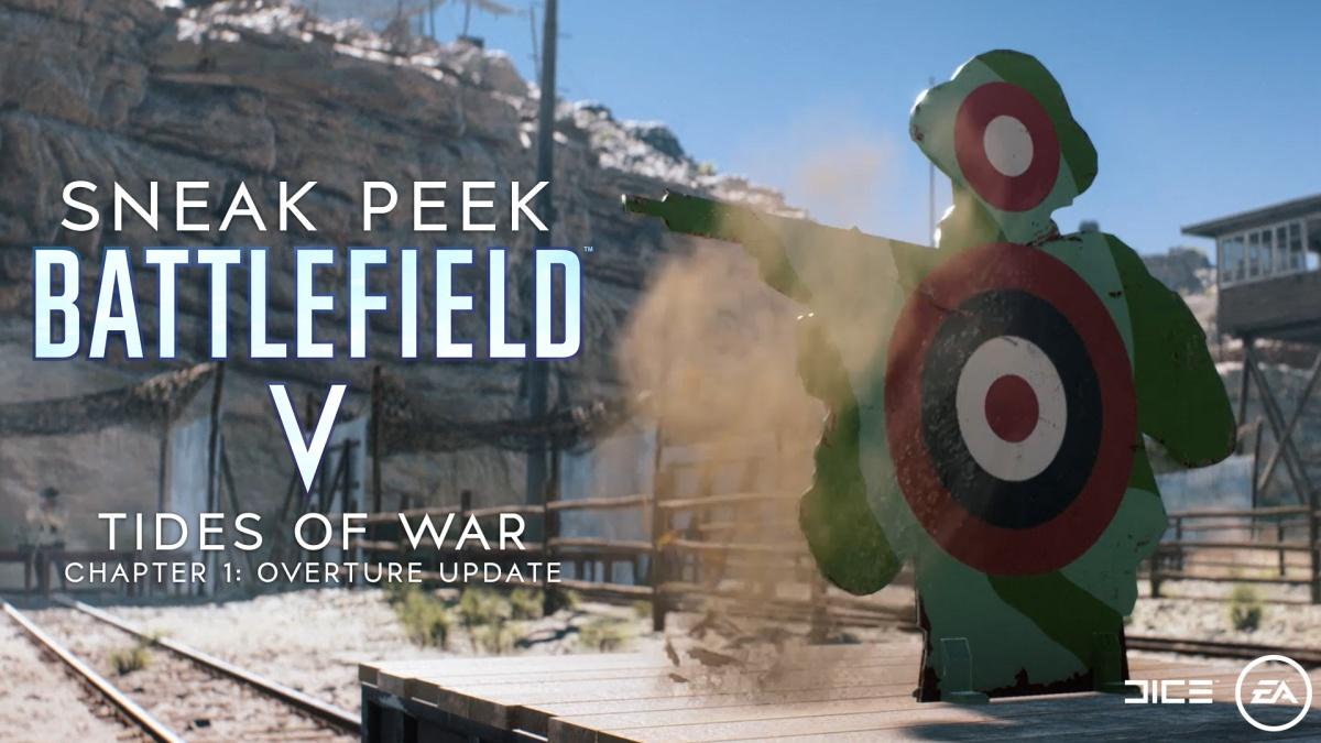 Battlefield V : découverte de la mise à jour du 4 décembre 2018 avec l'arrivée du chapitre 1 'Ouverture' des Sentiers de guerre