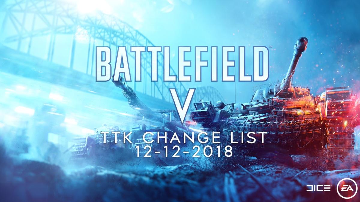 Battlefield V : les changements du TTK des armes sont officiels. Les voilà en détail avec les raisons de DICE