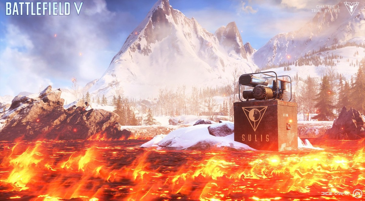 Battlefield V Firestorm : 25 captures officielles du Battle Royale en Full HD