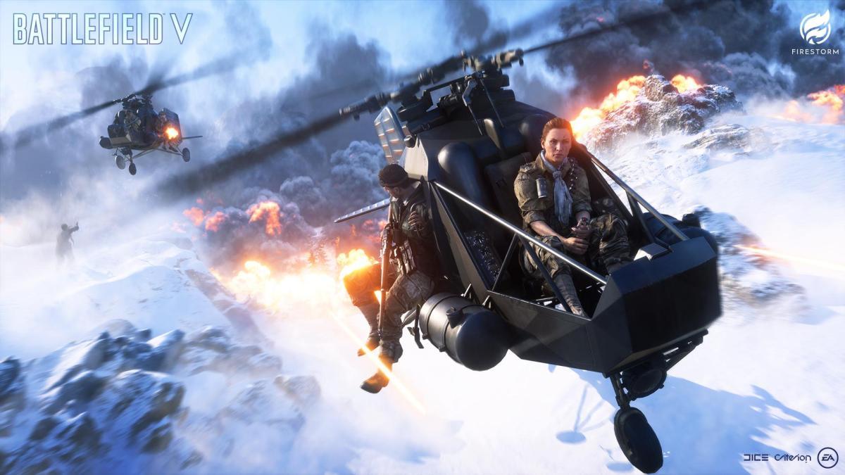 La bande annonce officielle de gameplay de Battlefield V : Firestorm est de sortie !