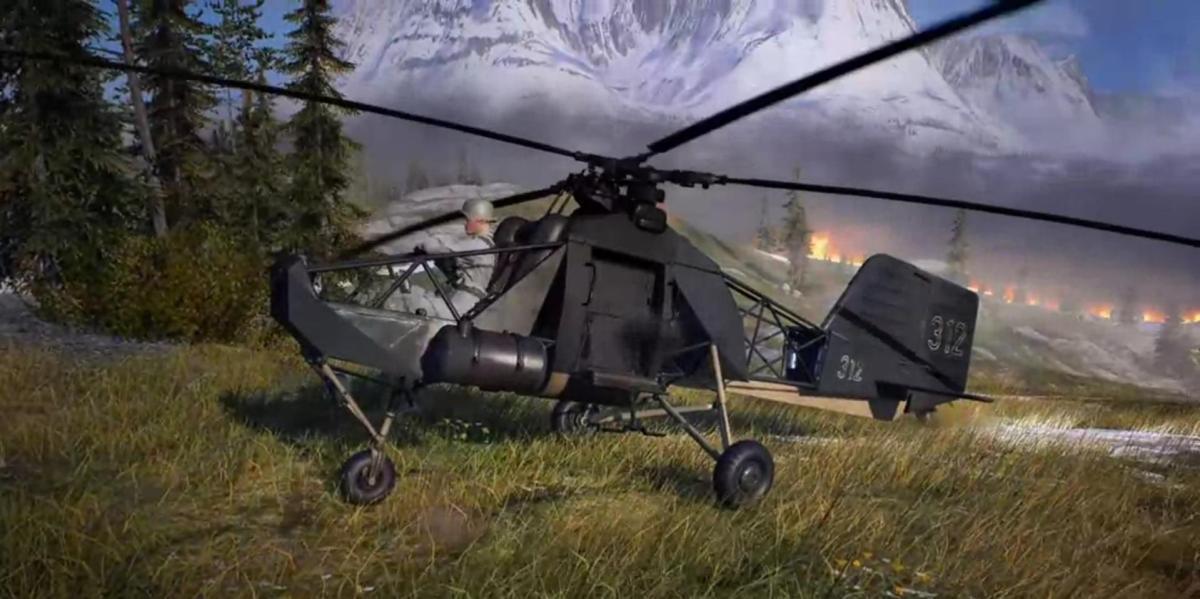 Firestorm : parlons un peu du Kolibri, l'hélicoptère expérimental aperçu dans le Battle Royale de BF5