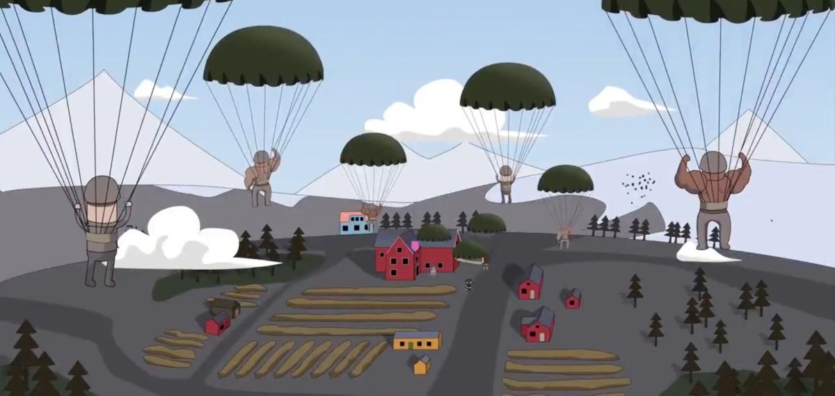 Battlefield V : le trailer de révélation de Firestorm revisité en dessin animé par des fans, c'est épique !